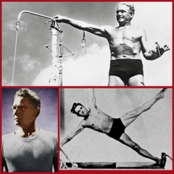 Joseph Pilates Collage