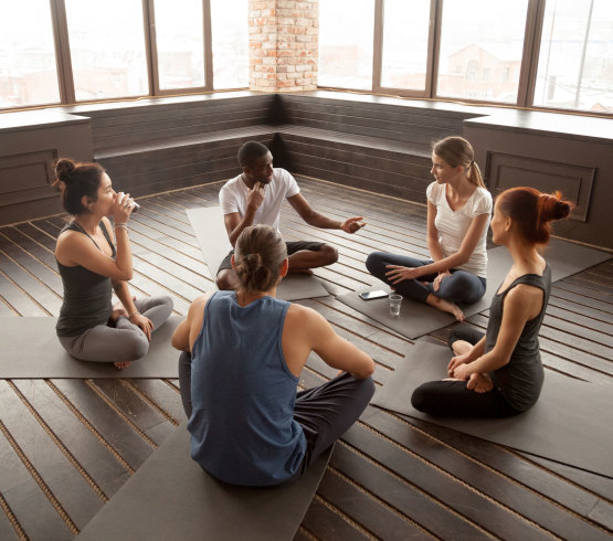 Yoga Teacher Training Class at Satya Yoga in Dallas, TX