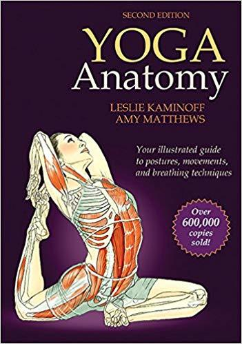 Yoga Anatomy Book Cover