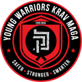 Young Warriors Krav Maga with org symbol