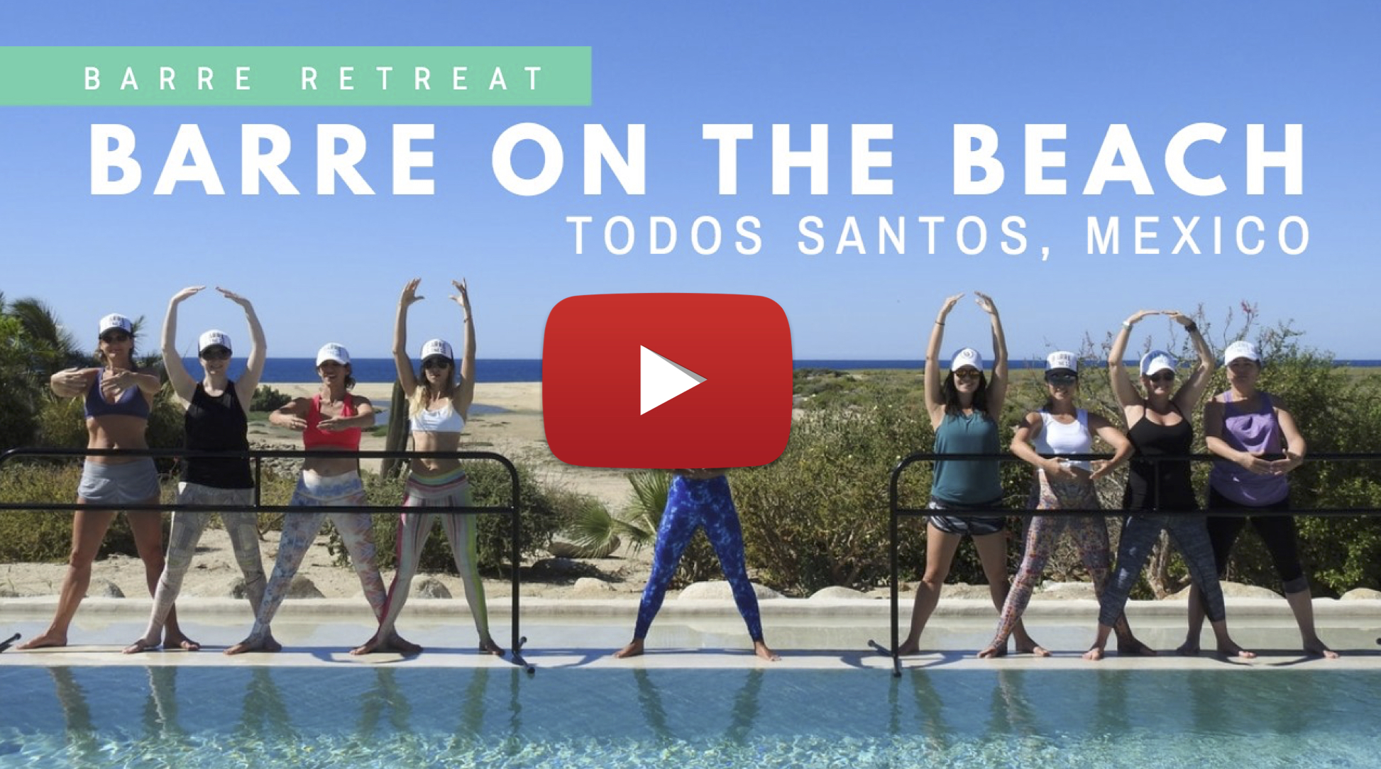 Barre fitness retreat Mexico