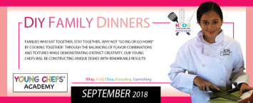 Young Chefs Academy Weekly Classes Sept 2018