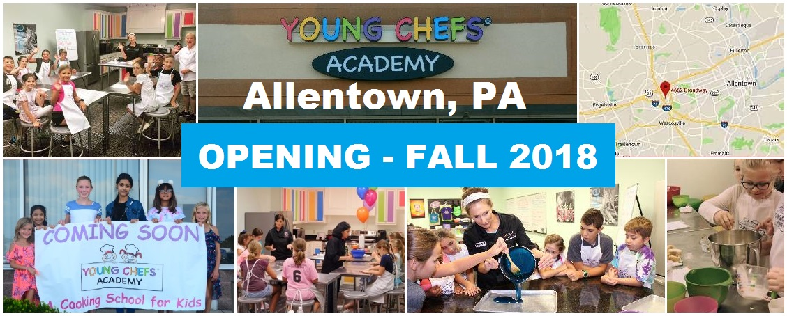 Allentown PA Young Chefs Opening