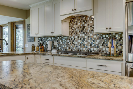 glass & ceramic tile backsplash