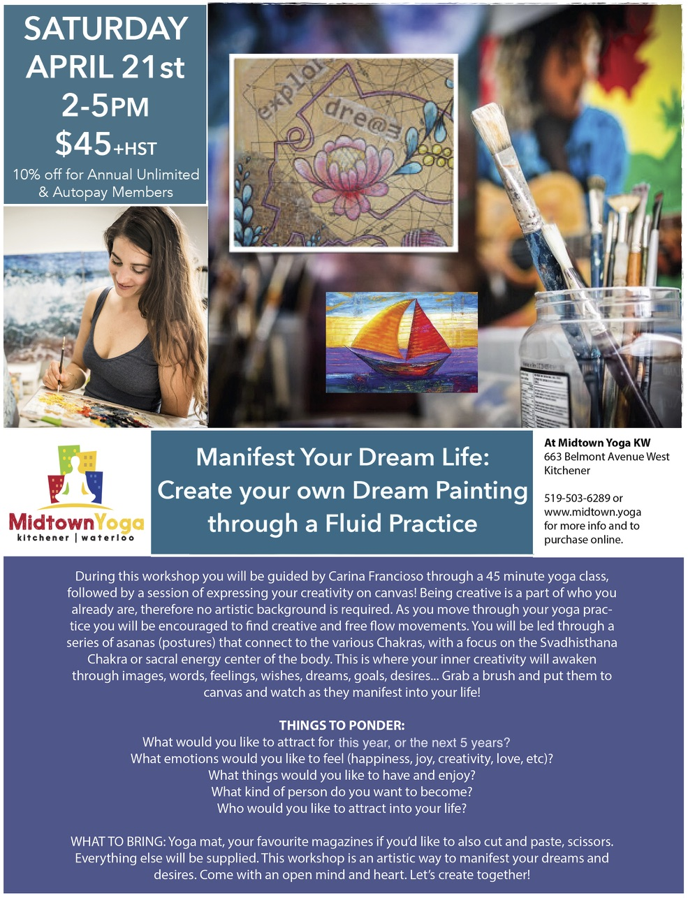 Events | Midtown Yoga Kitchener Waterloo