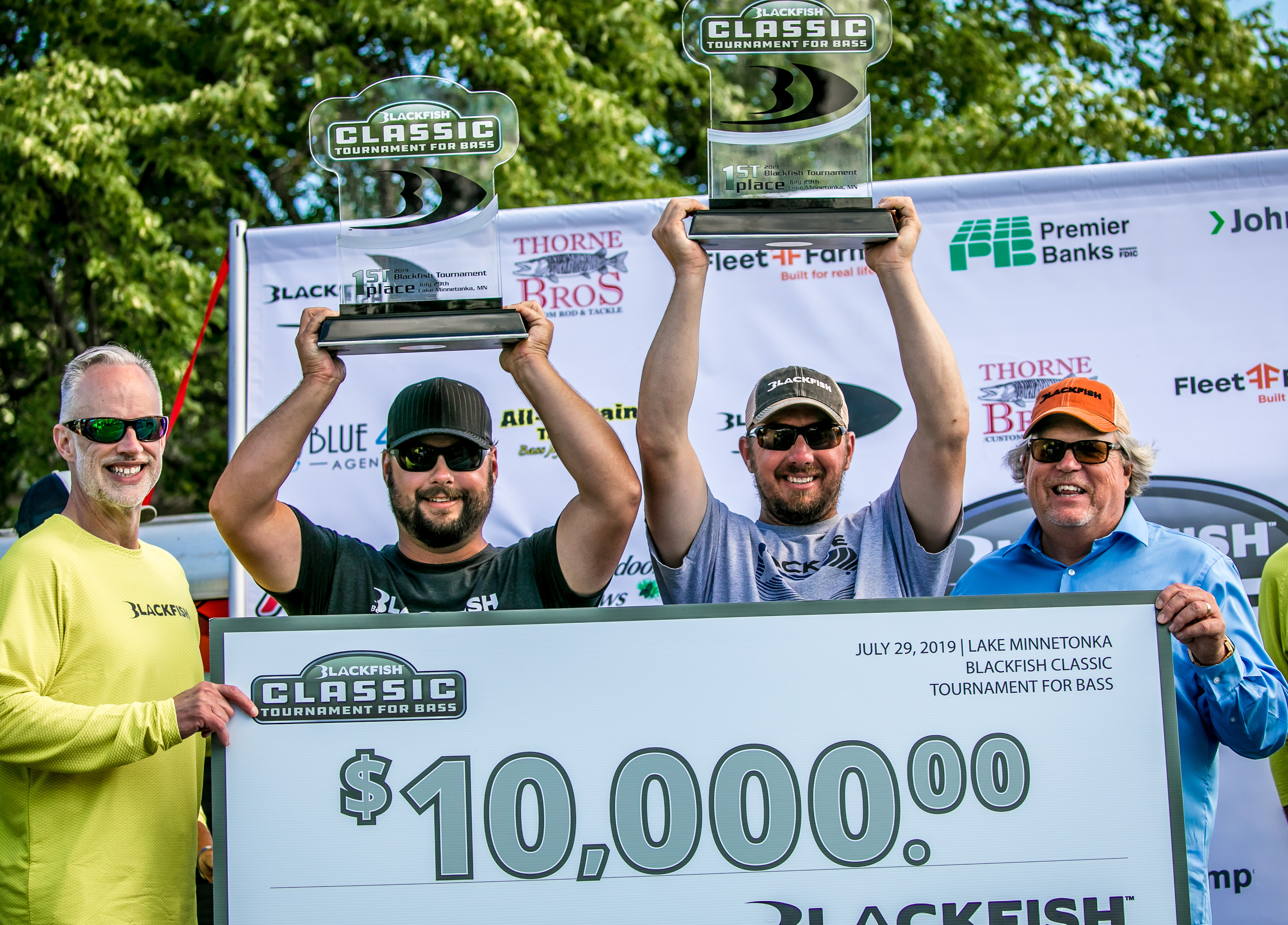 Blackfish® Hosts Largest Bass Tournament in Minnesota for 2019