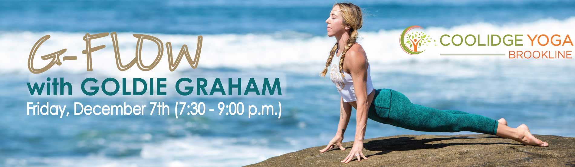 G-Flow - with Goldie Graham at Coolidge Yoga
