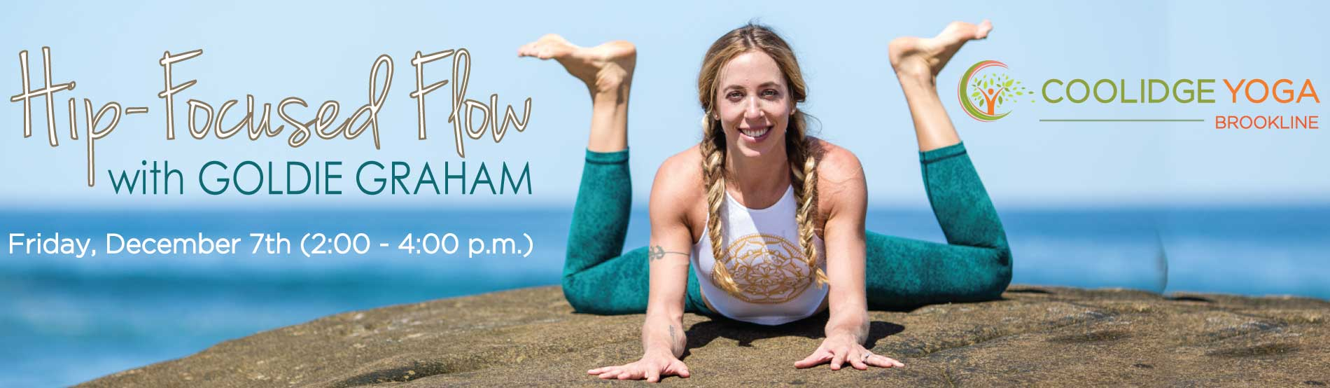 Hip-Focused Flow - with Goldie Graham at Coolidge Yoga