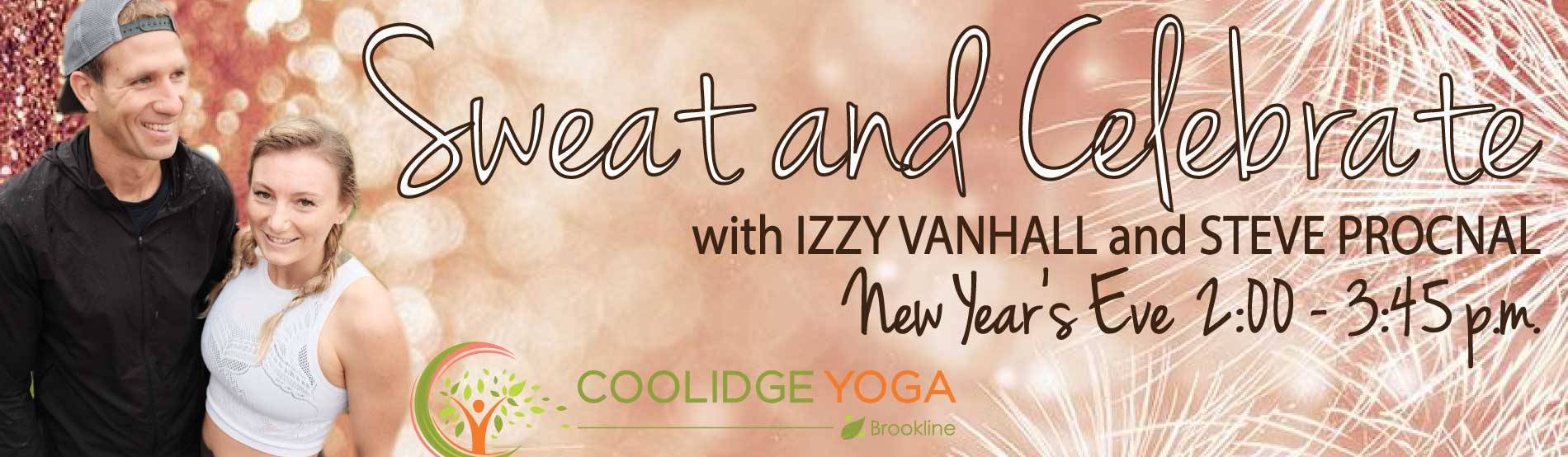 New Year's Eve Class with Izzy Van Hall