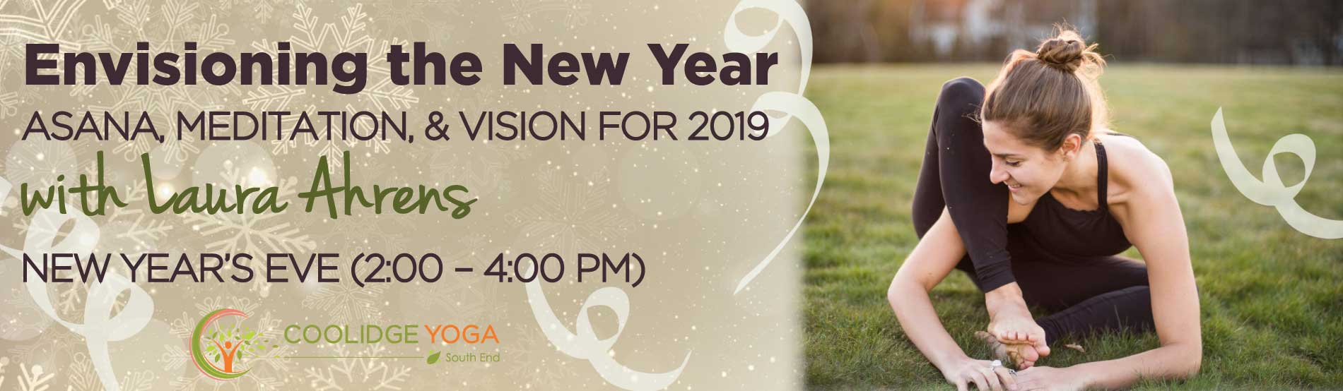 Envisioning the New Year with Laura Ahrens at Coolidge Yoga