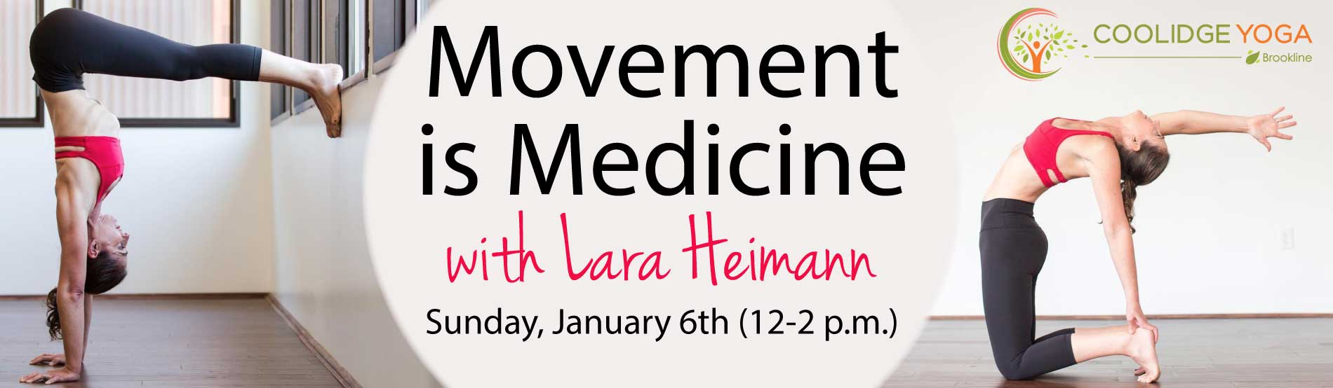 Movement is Medicine Workshop with Lara Heimann