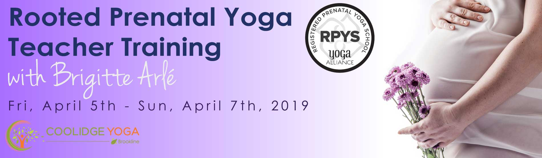 Prenatal Yoga Teacher Training at Coolidge Yoga