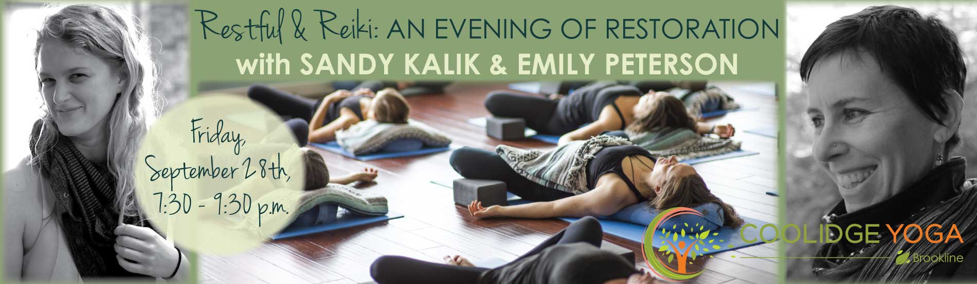 Restful and Reiki Workshop with Emily Peterson and Sandy Kalik