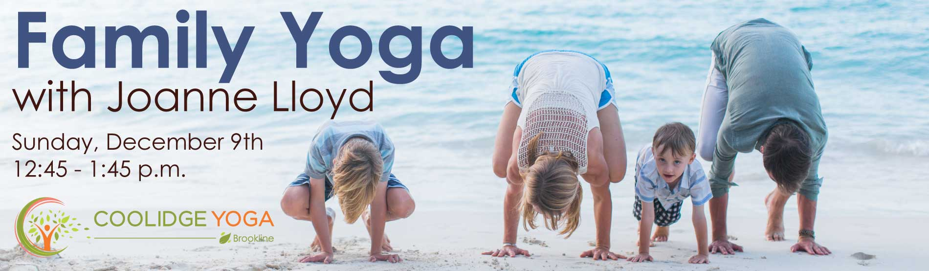 Family Yoga at Coolidge Yoga