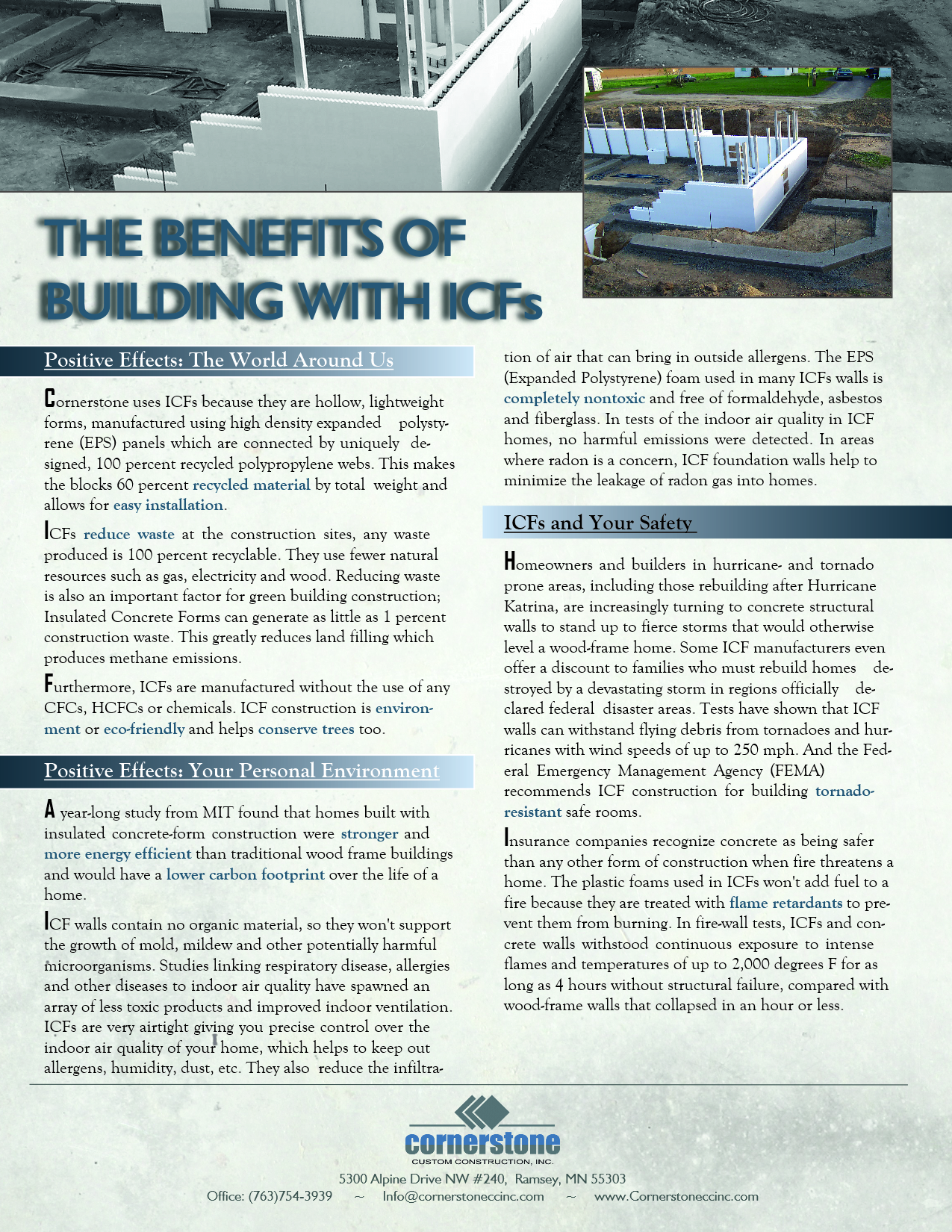 G-Benefit of ICFs