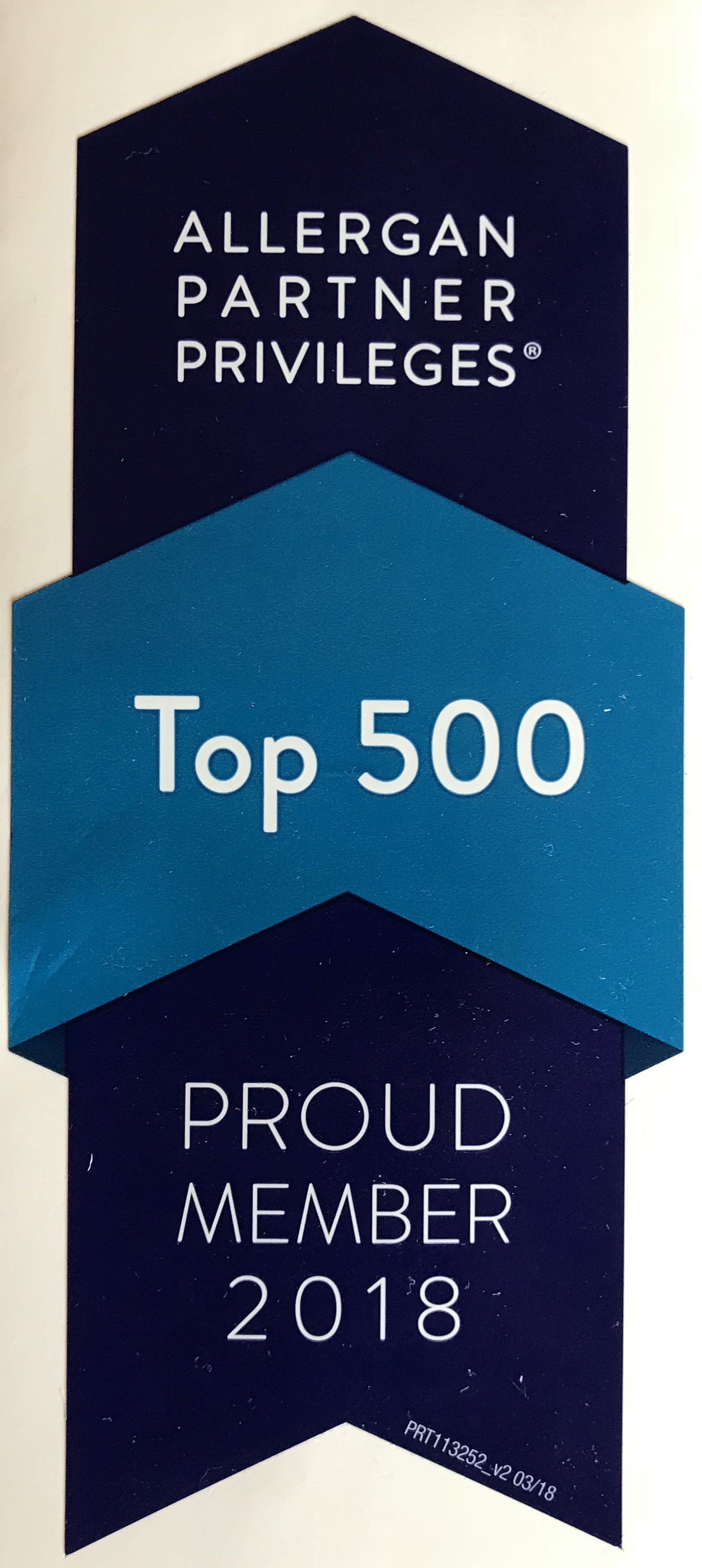 Dermani Medspa Allergan top 500 logo