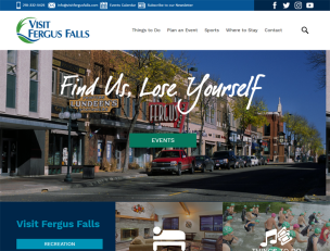 Visit Fergus Falls website