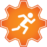 Running Icon at Fit Factory Fitness
