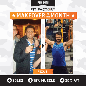 Makeover of the Month at Fit Factory Fitness