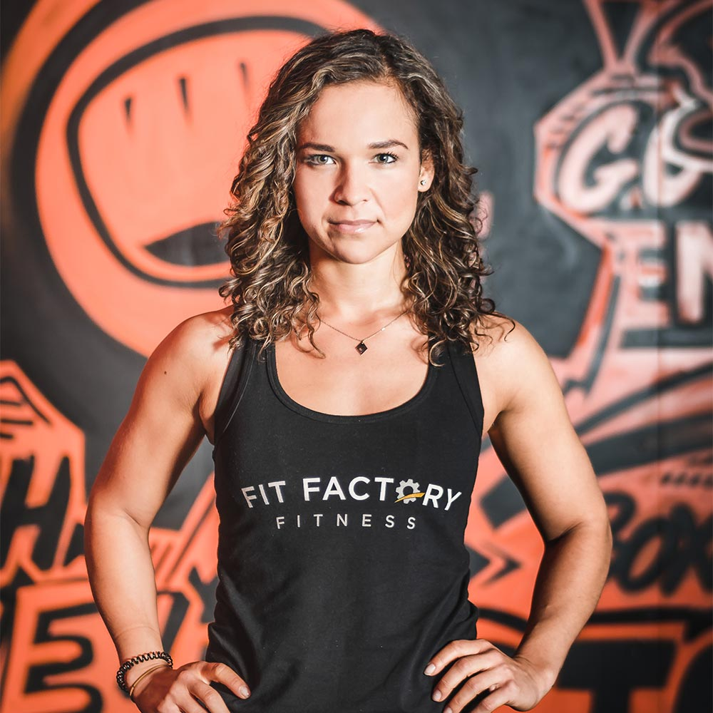 Jessica at Fit Factory Fitness