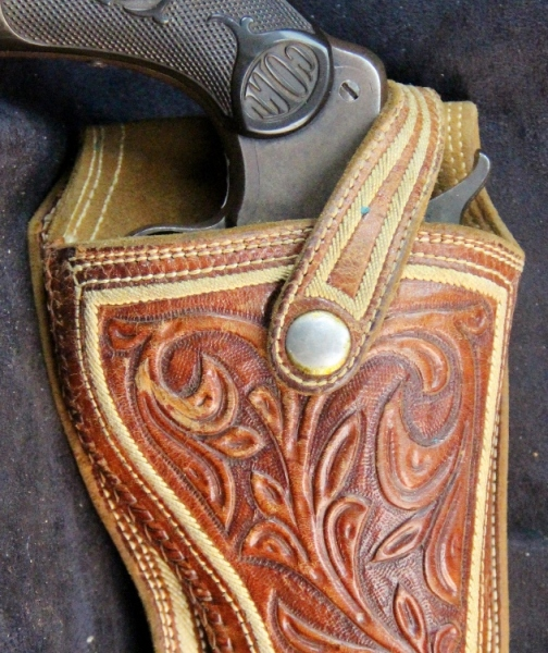 Mexican Style Holster B087