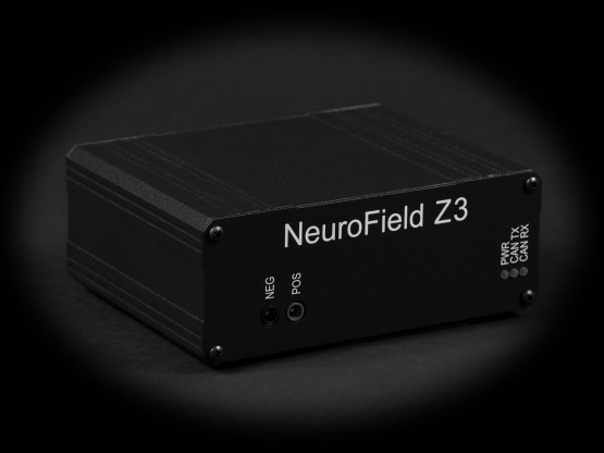 Neurofield Z3 neurostimulation device at NeuroField Neurotherapy, Inc.