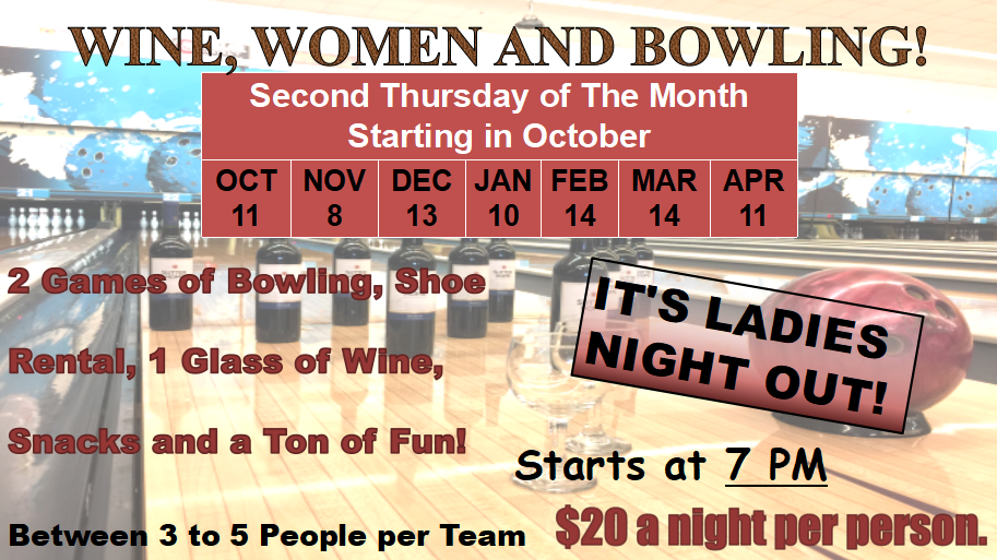 18-19 Wine Women Bowling