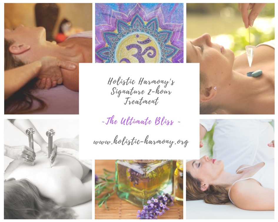 Holistic Harmony's Signature Treatment~The Ultimate Bliss ~