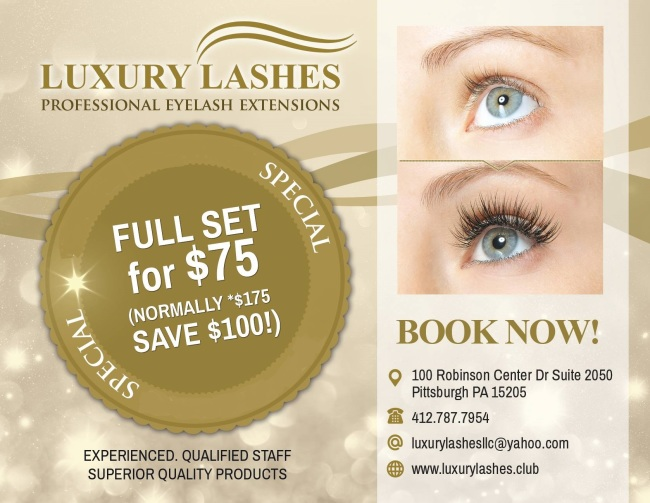 Welcome To Luxury Lashes Wexford Pa 15090