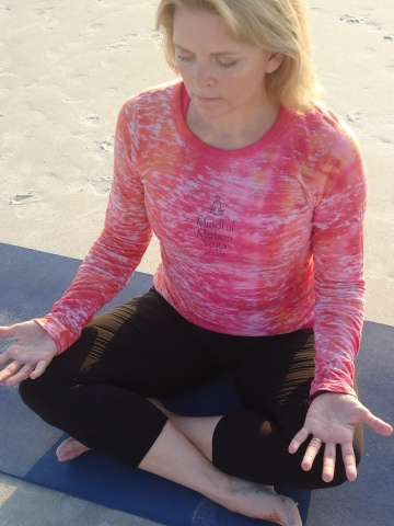 Terri Morrison at Mindful Motion Yoga