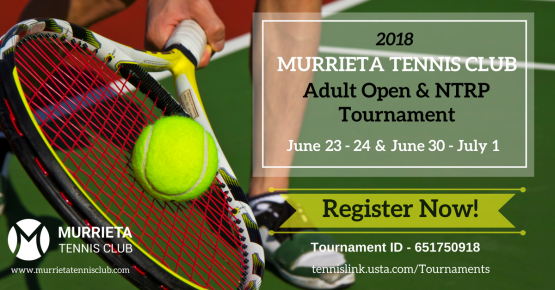MTC Adult Open & NTRP Tournament, June 23-24 & June 30-July1, 201