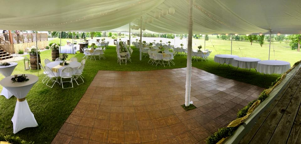 wedding-tent-pebble-lake-golf-course