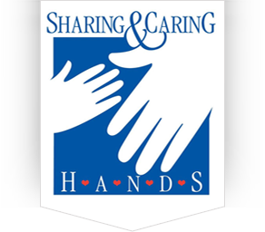 Sharing and Caring Hands Logo