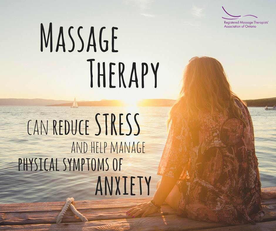 Massage Has It's Anti anxiety benefits