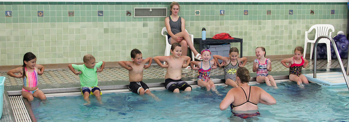 Swimming Lessons | St  Francis Health & Recreation | Little