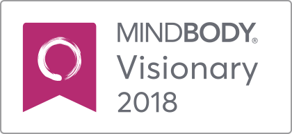 MindBody Visionary Award Logo