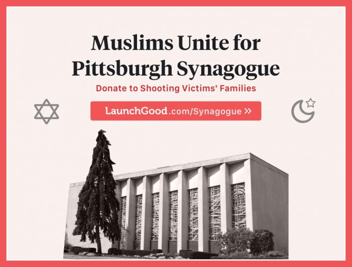 Muslims Unite for Pittsburgh Synagogue