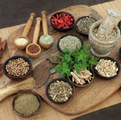 herbal medicine at WAY Wellness Center