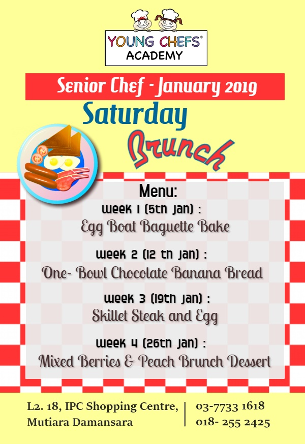 Jan 2019 Senior Chef