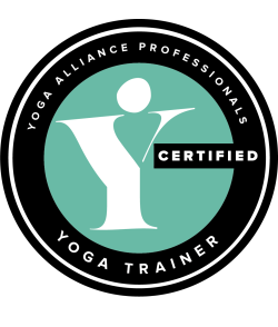 Yoga Alliance Professionals trainer logo 2018